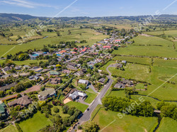Clevedon Village Drone Aerial Photograph