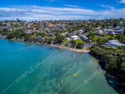 Howick Beach Aerial