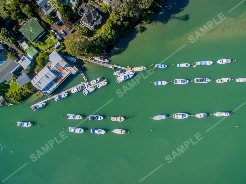 Tamaki Estuary Boat Mooring