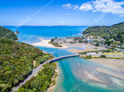 Waiwera River Drone Aerial
