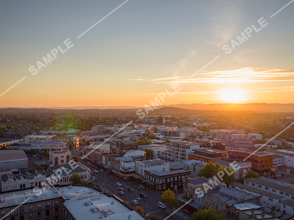 Auckland Urban Drone Aerial