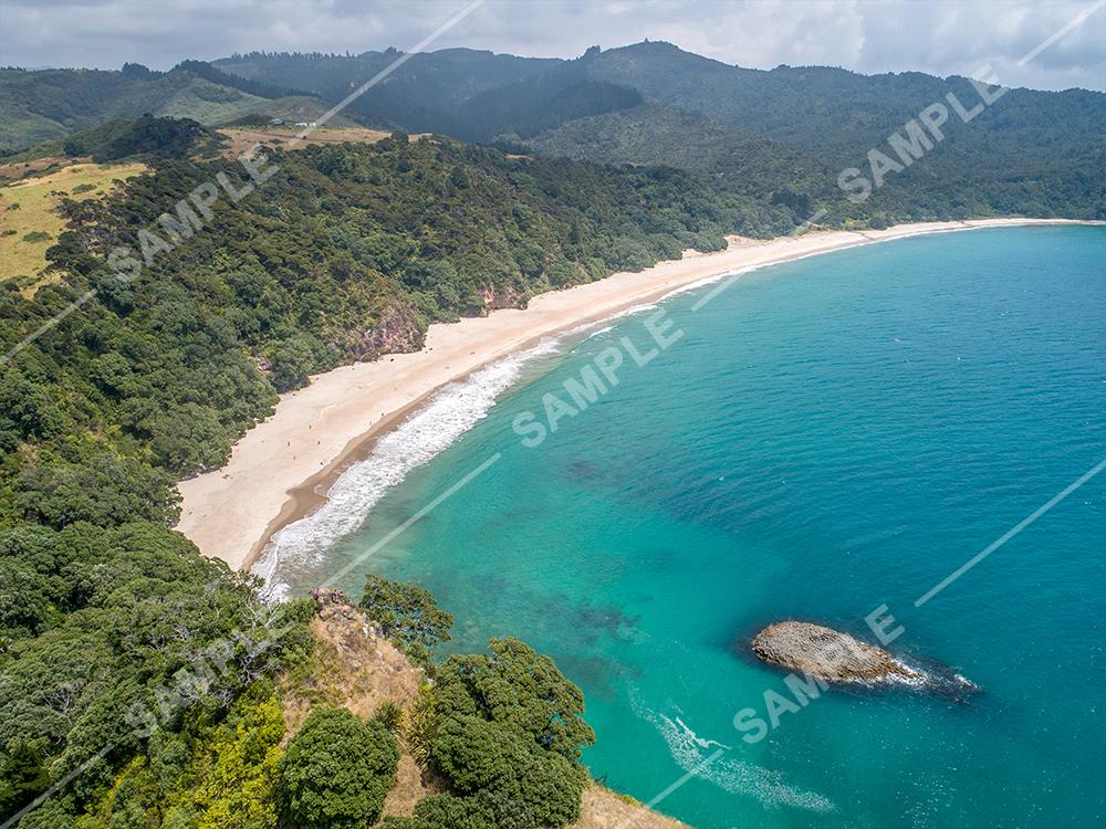 New Chums Beach Drone Aerial