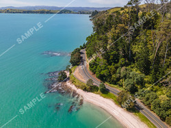 Pohutukawa Coast Drone Aerial Photograph