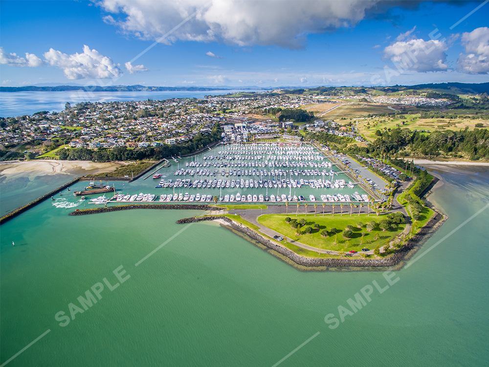 Pine Harbour Drone Aerial