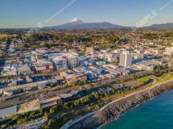New Plymouth Drone Aerial Photograph
