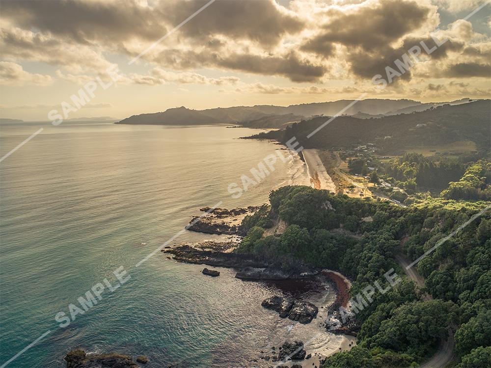 Coromandel Aerial Photo