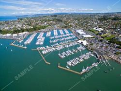 Half Moon Bay Marina Aerial