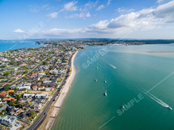Bucklands Beach Aerial