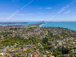 Bucklands Beach Peninsular Drone Aerial Photograph