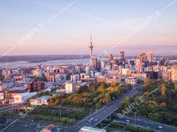 Auckland CBD Drone Aerial