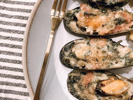 Italian Stuffed Mussels