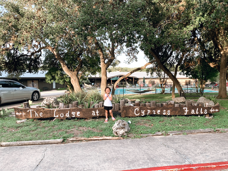 Wimberley, TX: The Lodge at Cypress Falls + Swimming Holes (Blue Hole + Jacob's Well)!