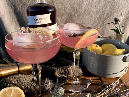 Empress Gin and Elderflower Cocktail