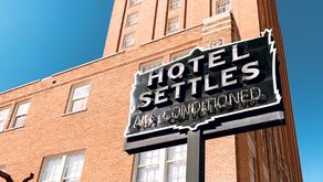Historic Hotel Settles: Big Spring, TX