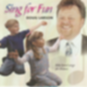Doug Larson | Sing For Fun CD cover