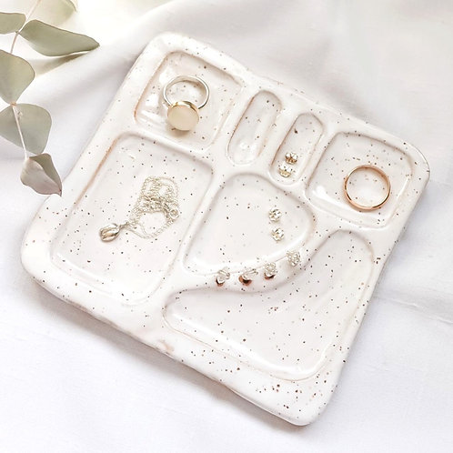Speckled Jewelry Tray
