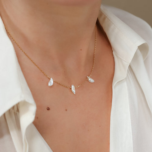 Pearl Ray Necklace