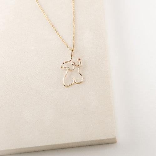 Curvy Necklace