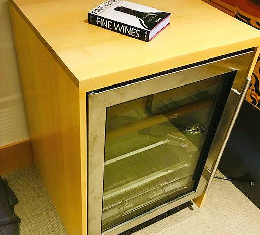 Maple Fridge Cabinet