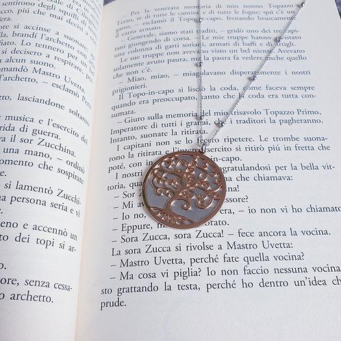 """Collana Acciaio dedica ai Maestri """"Personalizzabile"""""""