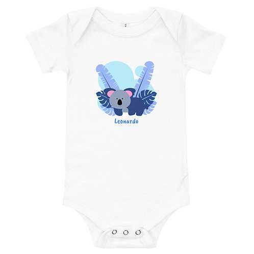 "Body Baby Love Animals Koala "" Personalizzabile """