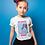 Thumbnail: No Drama Zebra T-Shirt Bambina