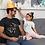 "Thumbnail: Dog Lover T-Shirt Uomo "" Personalizzabile"""