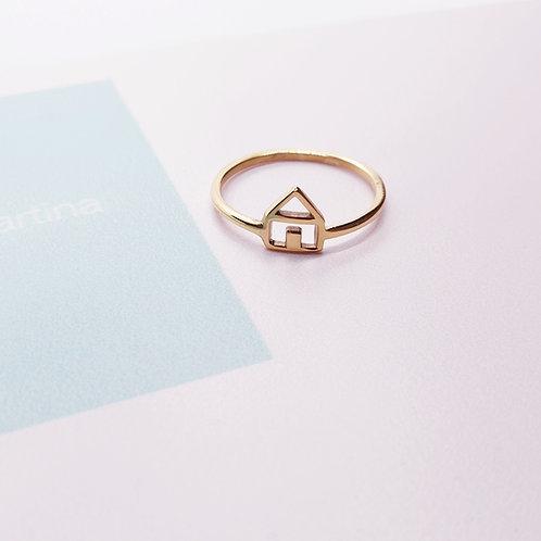 Anello Casetta in Argento o Oro