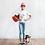 "Thumbnail: Dog Lover T-Shirt Bimbo/Bimba "" Personalizzabile """