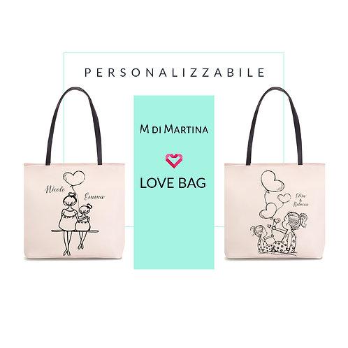 """Borsa Love Bag Sempre Insieme """"Personalizzabile"""""""