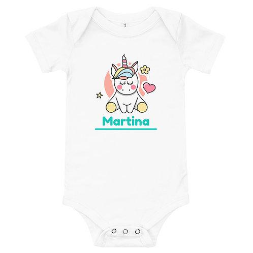 """Body Baby Unicorn """" Personalizzabile """""""
