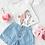 """Thumbnail: Kids Unicorn Love T-Shirt """" Personalizzabile """""""