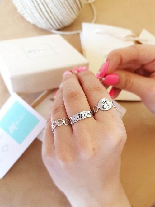 """Love Ring Argento 925 """"Personalizzabile"""""""