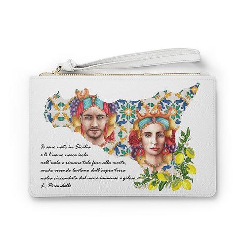 Love Sicily Clutch Bag