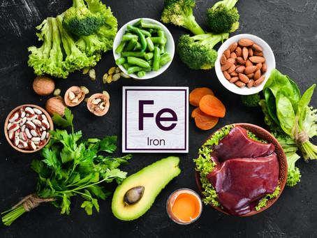 Eating Iron to lift Iron...