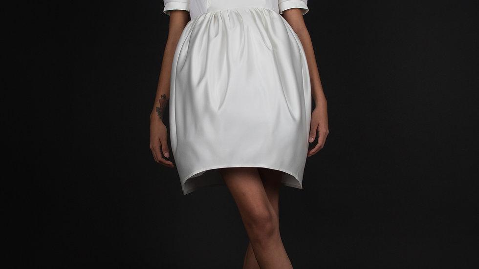 Pegged Shape Dress