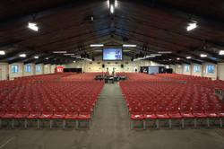 Red Chairs Auditorium