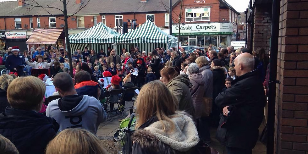 Romiley Village Market in the Square