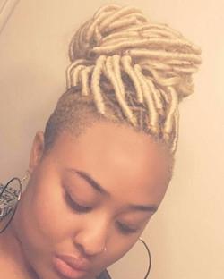 Blonde Goddess Locs