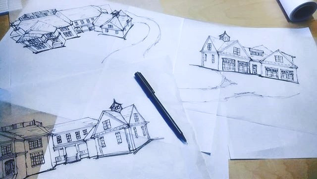Sketching a new home in _govclubnc !_._.