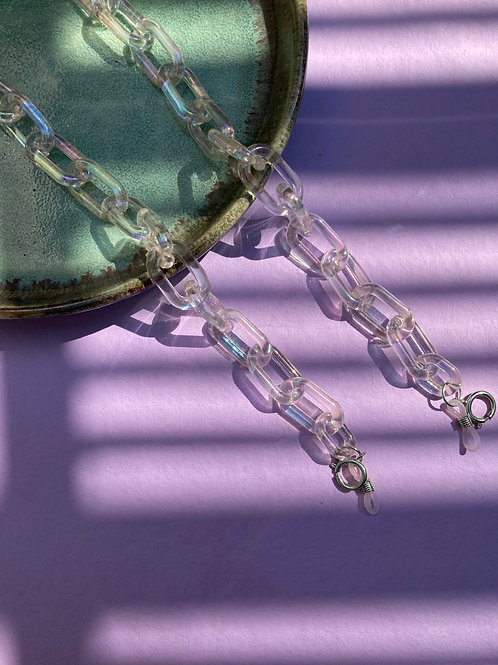 Holographic Mask Chain - Large link