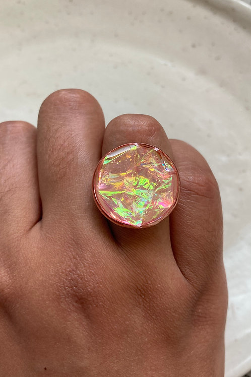 Holo Crinkles Ring