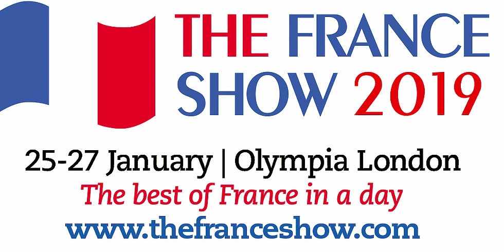 The France Show 25-27th 10.00 - 16.00 hrs