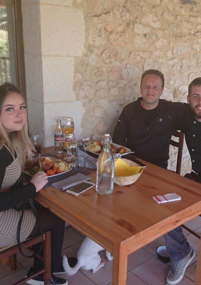 Chef at Le Cabri Restauant