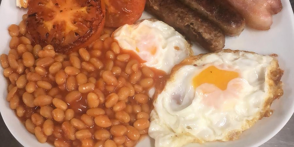 Cooked English Breakfast from 7.50€