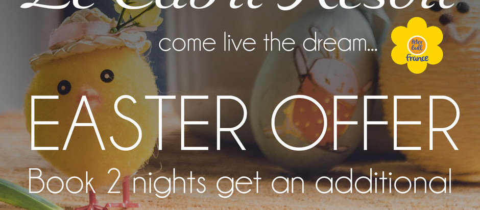 EASTER OFFER - 1 FREE NIGHT