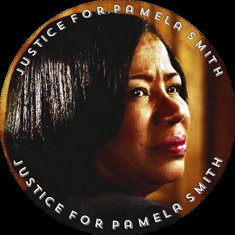 Justice For Pamela Smith emblem - no bor
