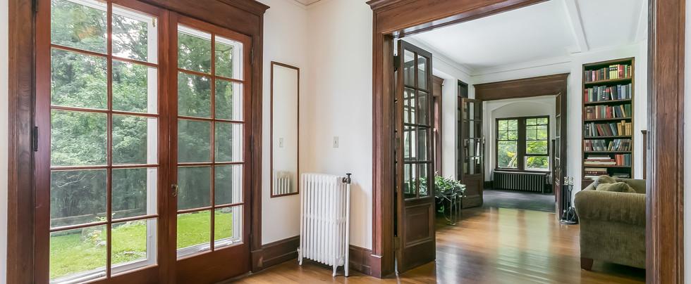 Terrace Doors and Foyer