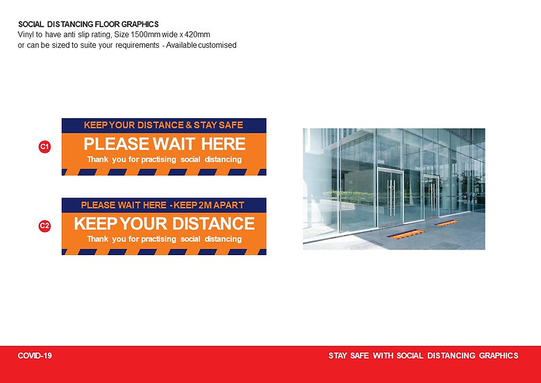 Rectangular Floor Graphic