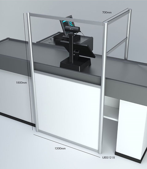 Freestanding Retail Screen